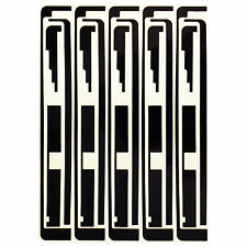 5x Full set Digitizer Touch Screen Adhesive Sticker Replacement for iPad 2 3 4
