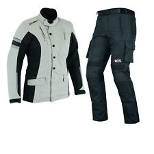Damen Motorrad Textil Kombi Damen Motorrad Touring Jacke und Hose Wasserdicht