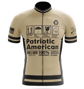 Patriotic American Cycling Jersey