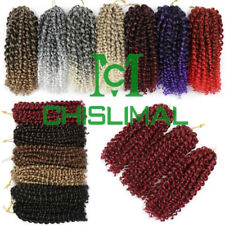 Kinky Curly 8 Inch Hair Extensions Braiding Crochet Twist Braids New Omber Hair