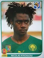 PANINI 397 Nicolas N 'KOULOU CAMEROUN FIFA Coupe du Monde 2010 Afrique du Sud