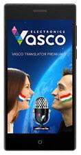 """Vasco Translator PREMIUM 5"""": Übersetzer für 40 Sprachen, mit Spracheingabe"""