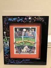 """Charles Fazzino """" MLB All-Star Game: DETROIT """" Hand Signed DOODLE Extremely Rare"""