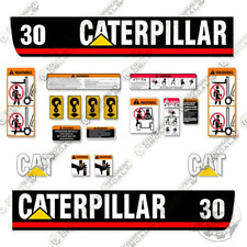 Caterpillar GP30 Decal Kit Forklift Decals - Warning Stickers - 3M Vinyl!