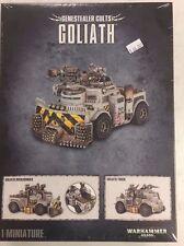 Warhammer 40K Genestealer Cult Goliath / Rockgrinder Truck New Sealed