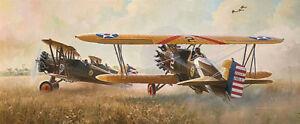 "Keith FERRIS "" FARMER'S NIGHTMARE "" Limited Edition Print Airplane War"