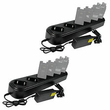 2*  New 6Way Single Row Universal Rapid Charger for TYT MD390 Retevis RT8 Radio
