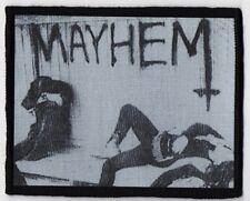 MAYHEM PATCH / SPEED-THRASH-BLACK-DEATH METAL