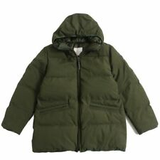 2018-19Aw MONCLER Montsouris Hood With Leather Logo Patch Down Jacket Ghana Made