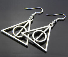 wholesale prices Fashion Harry Potter The Deathly Hallows Charm earring 12 pair