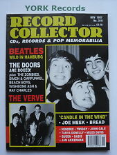 RECORD COLLECTOR MAGAZINE - Issue 219 November 1997 - Beatles / Verve / Doors