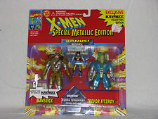 2 -  Pack - Kay Bee, KB Exc -  Metallic Edition X-Men, Maverick & Trevor Fitzroy