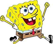 "SpongeBob SquarePants Cartoon Bumper Sticker Decal 5"" x 4"""