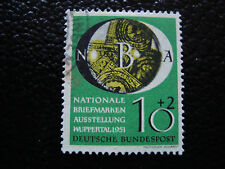 ALLEMAGNE RFA - timbre - Yvert et Tellier n° 27 obl (A1) stamp germany