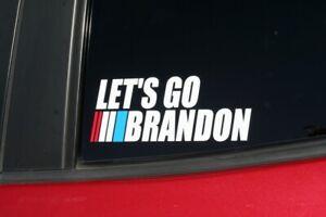 Let's Go Brandon  BUY 2 GET 1 FREE!  Sticker Decal FJB anti Joe Biden POTS