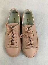 AXEL ARIGATO, Ladies Seashell Pink Leather Lace Up Trainers, EU37/UK4, RRP £175