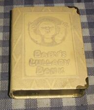 """Vintage Coin Book Bank,Safe,""""Baby's Lullaby Bank,The First Step"""" Volume V,5,Zell"""