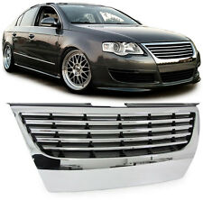 ALL CHROME DEBADGED SPORTS GRILL FOR VW PASSAT B6 3C 3/2005-7/2010 NICE GIFT