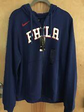 PHILA NIKE NBA HOODIE SWEATSHIRT SIZE XL NEW $84.99