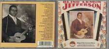 Blind Lemon Jefferson - King of the Country Blues (CD, Oct-1990, Yazoo)