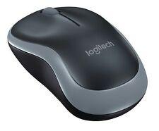 Logitech M185 Ratón Óptico Inalámbrico gris nuevo compacto para PC Laptop Mac Linux