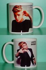 JUSTIN BIEBER - with 2 Photos - Designer Collectible GIFT Mug 03