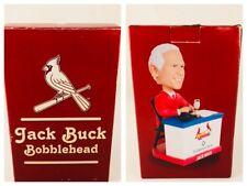 """Jack Buck """"Go Crazy Folks"""" St. Louis Cardinals Voice Chip Bobblehead SGA"""