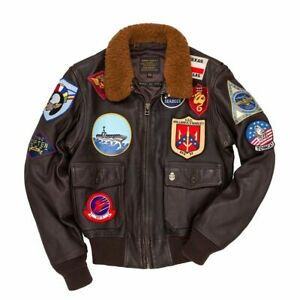 """Cockpit USA (formerly Avirex) """"Movie Heroes"""" Top Gun G1 Jacket US Made! Z201036T"""