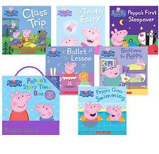 Peppa Pig: Peppa's Storytime Box (2016, Paperback) Ballet,Bedtime,Class Trip 6pk