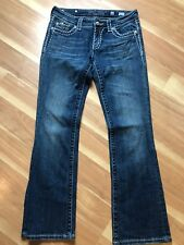 MISS ME BOOT JE5152BR Boot JEANS SIZE 28 Women's