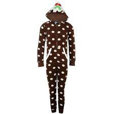 onesie age 5 / 6  girls  pyjamas pjs xmas pudding kids all in one new not gerber