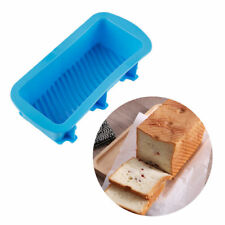 1X Non-stick Silicone Baking Mold Toast Bread Cake Candy Bakeware Pan Oven Mould