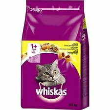 WHISKAS 1+ Cat Complete Dry with Chicken 3.8kg - 3.8kg - 242556