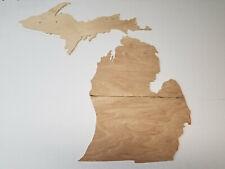 Medium Michigan Craft Ply Petoski Rock Art Template CNC Cut