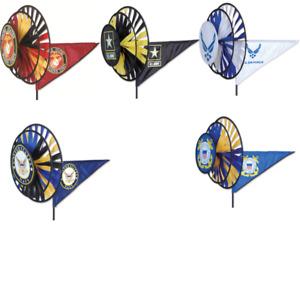 US MIlitary Triple Wind Spinner by Premier