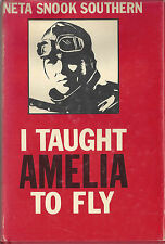 Book - I TAUGHT AMELIA TO FLY - Inscribed & Signed w/personal letter from Author