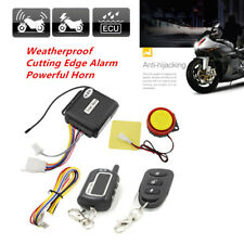 For Motorcycle 2-Way Security Alarm System Anti-theft Remote Electrical Starter