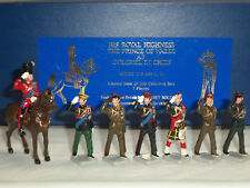 DORSET HRH PRINCE OF WALES COLONEL IN CHIEF MOUNTED METAL TOY SOLDIER FIGURE SET