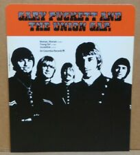Gary Puckett and the Union Gap 1970 record store hard plastic rack card Columbia
