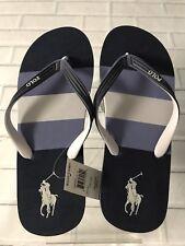 Men's Flit Flops Polo Pony Ralph Lauren's Brand New Colors Black & Navy.