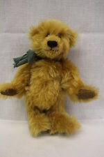 "Big Softies, Golden Brown Yorkshire Mohair, ""Baby Gareth"" Bear, 9"" Tall"