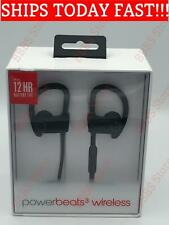 Beats by Dr Dre Powerbeats3 In-Ear Wireless Headphones Black New In Retail OEM