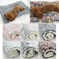 Pet Plush Blanket Mat Dog Cat Puppy Warm Sleeping Soft Bed Blankets Supplies je