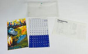 Metagaming MicroGames MicroGame #8 G.E.V. Copyright 1978 Steve Jackson