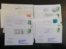 France 22 1972 - 1992 Motorcyle Cancel Covers & 1966 First Flight Cover