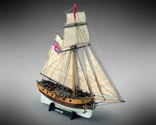 Mamoli Hunter British Armed Cutter 1767 1:72 MV35 Model Boat Kit