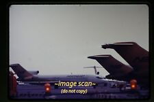 1970 Northeast Airlines N1639 Boeing 727 Aircraft at JFK, Original Slide c14a