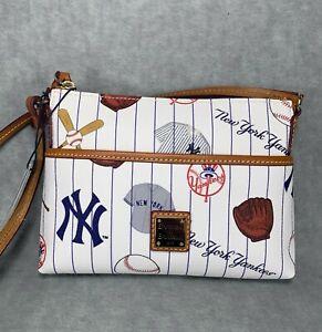 Brand New  Dooney & Bourke NY Yankee Ginger Crossbody