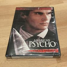 American Psycho (Dvd, 2005, Uncut) New
