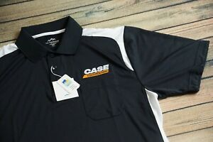 Brand New Case Construction Moisture Wicking Polo Shirt Mens ( Med)